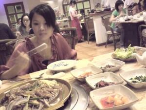 韩国料理餐馆 在中华广场