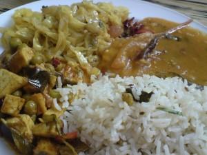 地道的印度菜