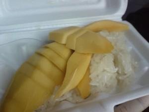 好吃的芒果糯米饭