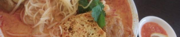 好吃的马来西亚美食喇沙米粉