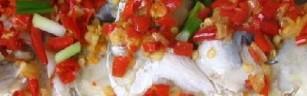湘菜馆的剁椒鱼头