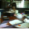 再次相遇和慧一起吃日本料理